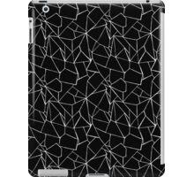 Web Black and White iPad Case/Skin