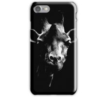 giraffe t-shirt iPhone Case/Skin