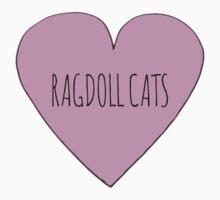 Ragdoll cat love One Piece - Short Sleeve