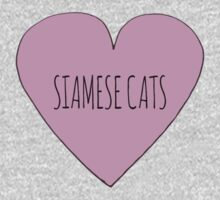 Siamese cat love Baby Tee