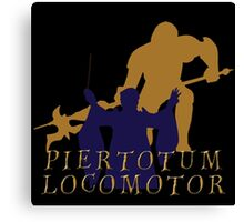Piertotum locomotor Q Canvas Print