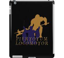 Piertotum locomotor Q iPad Case/Skin