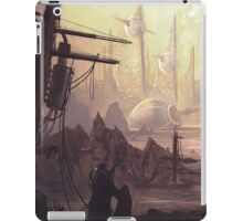 Wasteland Journey- The City of Iraxes iPad Case/Skin