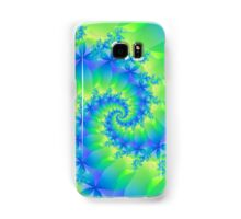 Psychedelic Colorful Spiral Fractal Samsung Galaxy Case/Skin