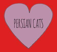 Persian Cat Love One Piece - Long Sleeve