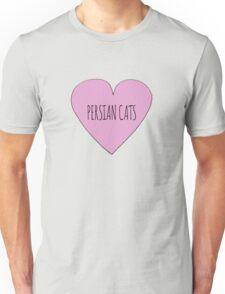Persian Cat Love Unisex T-Shirt