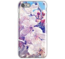 Cherry flowers iPhone Case/Skin