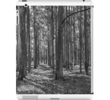 Plantation Pattern (B&W) iPad Case/Skin
