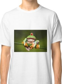 Funny Cyclopic Frog Classic T-Shirt