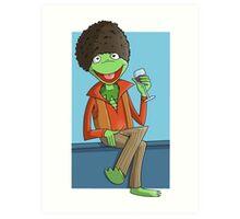 Kermit The Ladies Man Art Print