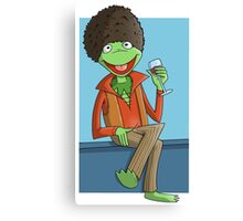 Kermit The Ladies Man Canvas Print