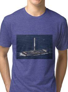 Space X Landed Rocket Tri-blend T-Shirt