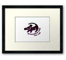 simba Framed Print