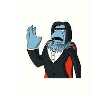 Sam Eagle - Opera Man Art Print