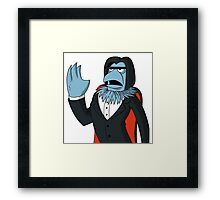 Sam Eagle - Opera Man Framed Print