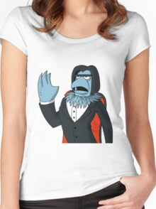 Sam Eagle - Opera Man Women's Fitted Scoop T-Shirt