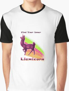 Find Your Inner Llamicorn Graphic T-Shirt