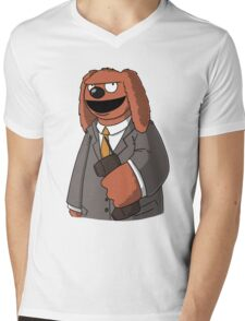 Rowlf The Unfrozen Caveman Laywer Mens V-Neck T-Shirt