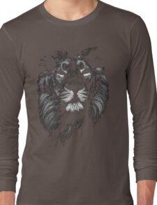 lion, indian lion Long Sleeve T-Shirt