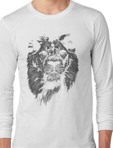 lion, indian lion Long Sleeve T-Shirt