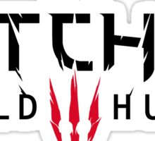The Witcher - Wild Hunt Logo Sticker