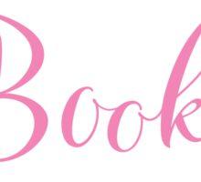 Books Books Books  in pink Sticker