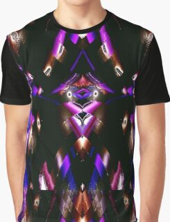 WA9 Colour in the Night fractal trace design Graphic T-Shirt