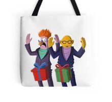 Beaker & Dr Bunsen - Dick in a box Tote Bag