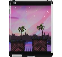 Green Hill By Night iPad Case/Skin