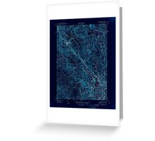 USGS TOPO Map Rhode Island RI Pawtucket 353437 1944 31680 Inverted Greeting Card