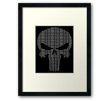 New York Yankees Punisher Logo Framed Print