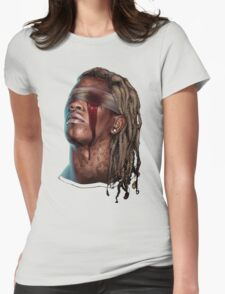 YOUNG THUG - SLIM SEASON 3 [4K] [HIGH QUALITY] Womens Fitted T-Shirt