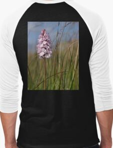 Spotted Orchid,  Portnoo, Co. Donegal Men's Baseball ¾ T-Shirt