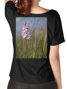 Spotted Orchid,  Portnoo, Co. Donegal Women's Relaxed Fit T-Shirt
