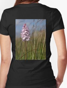 Spotted Orchid,  Portnoo, Co. Donegal Womens Fitted T-Shirt