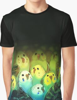 Bird Pile Graphic T-Shirt