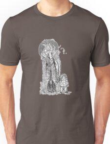 Cute Girl Skull Unisex T-Shirt