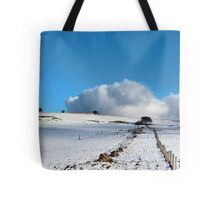 Rolling clouds in the peak district Tote Bag
