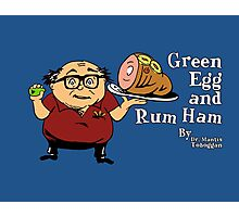 Green Egg and Rum Ham Photographic Print