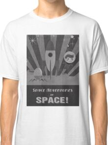 Space adventures, In Space!  Classic T-Shirt