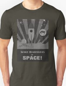 Space adventures, In Space!  Unisex T-Shirt