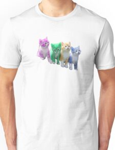 Multi coloured Cats T-shirts, Phone cases & More Unisex T-Shirt