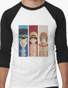 ONE PIECE - BROTHERS Men's Baseball ¾ T-Shirt