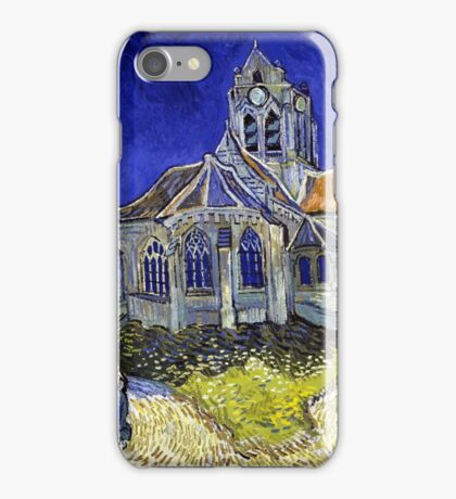 Vincent Van Gogh The Church in Auvers iPhone Case/Skin