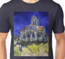 Vincent Van Gogh The Church in Auvers Unisex T-Shirt