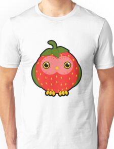 Strawberry owl Unisex T-Shirt