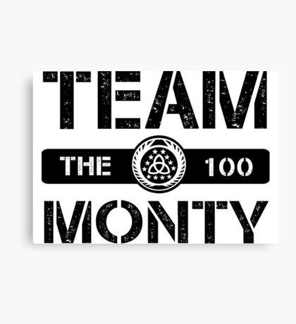 Team Monty Canvas Print