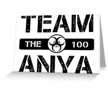 Team Anya Greeting Card
