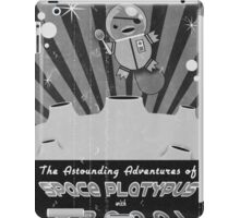 The astounding adventures of space platypus with spoon iPad Case/Skin