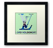 Lord Voldemort1 Framed Print